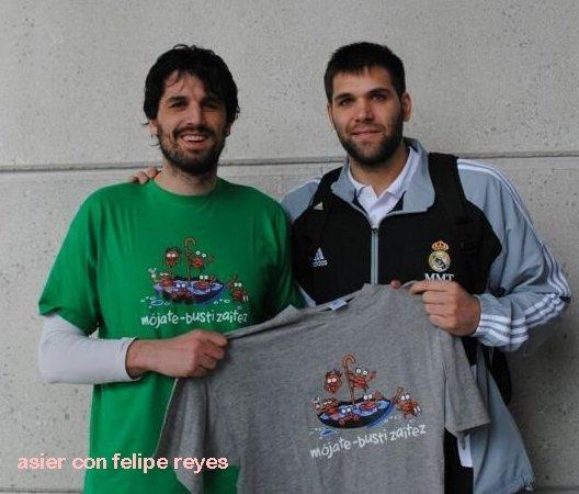 El jugador de baloncesto Felipe reyes