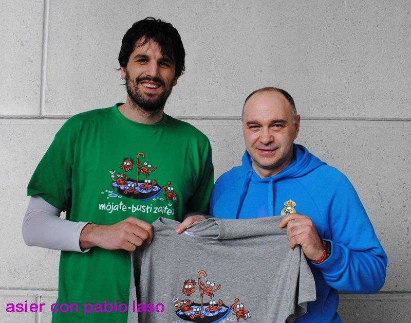 El entrenador de basquet, Pablo Laso