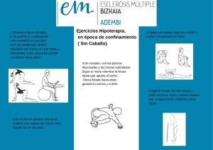 Ejercicios Hipoterapia, en época de confinamiento ( Sin Caballo). (1)